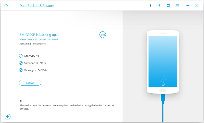 Dr Fone Android Data Backup & Restore