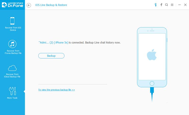 Hoe LINE Chat Geschiedenis Back-uppen en herstellen op iPhone en Android