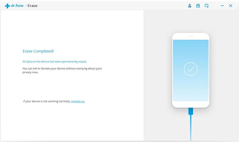 android data gewist