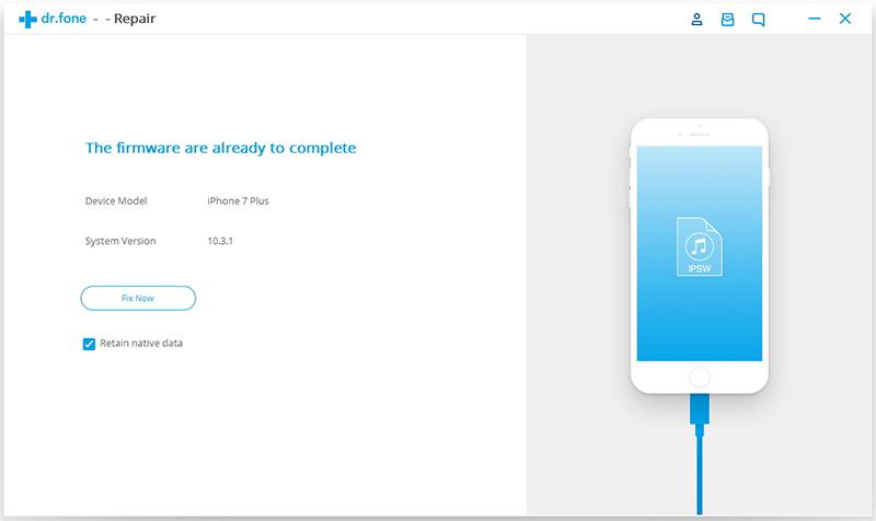krijg iOS apparaat uit Herstel Mode
