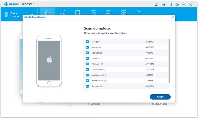 Transfer Audio van Computer naar iPhone/iPad/iPod - verbind je Apple apparaat