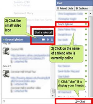 check facebook video chat problem