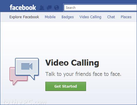 facebook video call set up