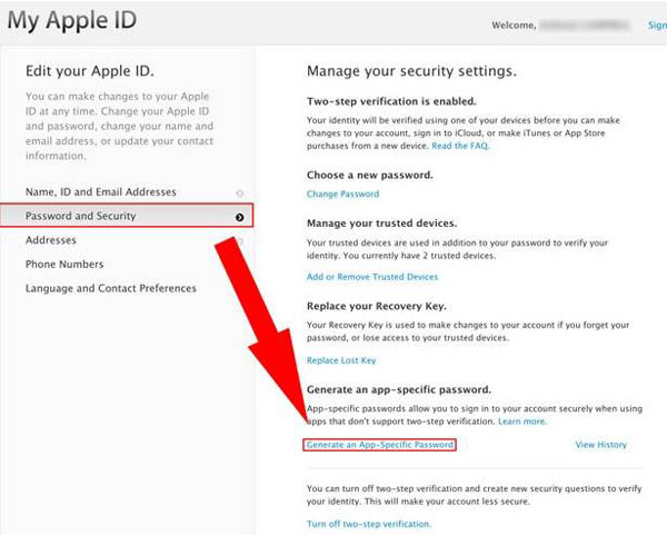 recover the forgotten iCloud password finished