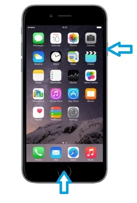 can't turn off iphone screen