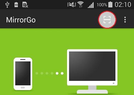 hoe de mirrorgo app verbinden met pc via wifi