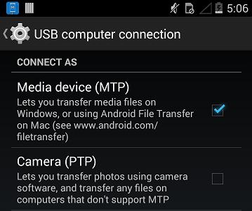 android device niet gevonden