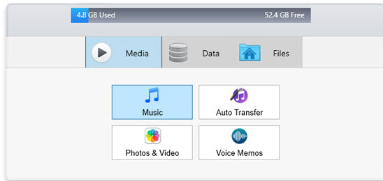 Export iTunes Playlists to iPhone/iPad/iPod-make sure iExplorer is launched on Mac or PC