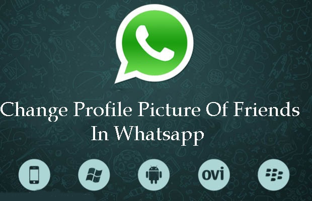 whatsapp tricks and tips-Changing the Profile Picture of your Friend