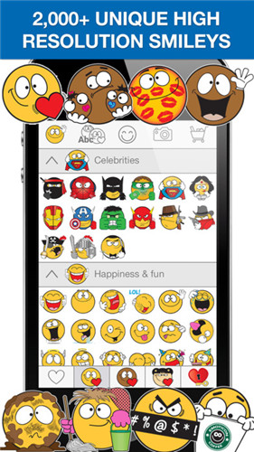 top 5 de aplicativos de emoticons do whatsapp para iphone