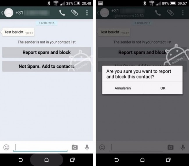 how to block whatsapp spam-Block WhatsApp Spam in iPhone