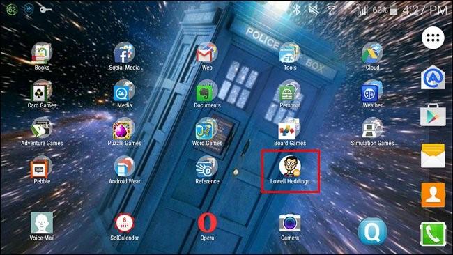 passaggi per il widget contatti preferiti android su smartphone