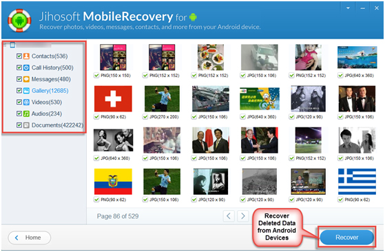 free photo recovery app for android