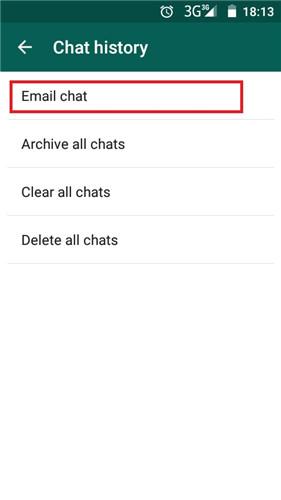 fare backup della cronologia di whatsapp android per prevenire una perdita di dati in futuro