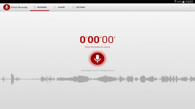 Voice Recorder by Splend apps for android