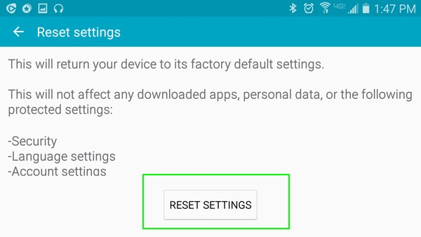 reestablecer android sin perder datos