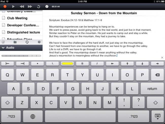 comment r cup rer une note supprim e sur l 39 iphone. Black Bedroom Furniture Sets. Home Design Ideas
