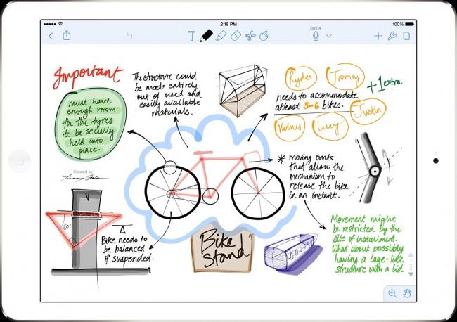 ios notes app