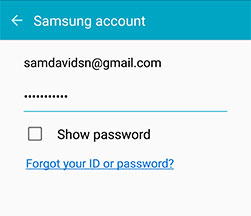Confirm Samsung reactivation lock
