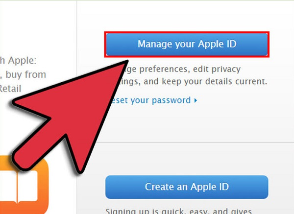 reset icloud email-manage apple id