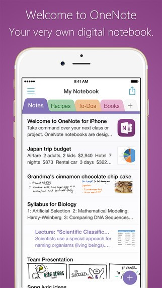 note app for iphone