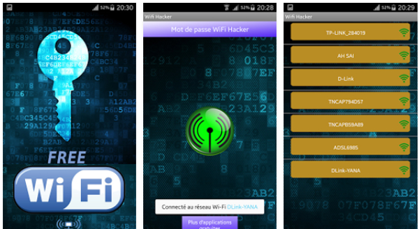 Pirater un mot de passe Wifi sur Android