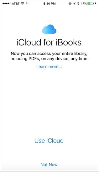 Update ePub Books on iOS 9.3