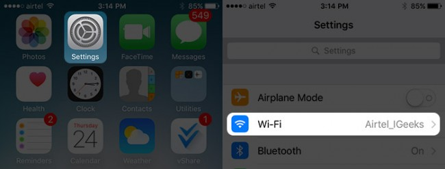 Wi-Fi issues after iOS 9.3 Update