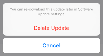 Unable to Verify Update iOS 9.3