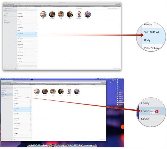 how to delete multiple contacts on icloud