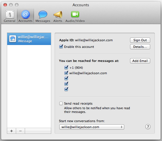 sync imessages across multiple devices-Set up your Mac OSX Device