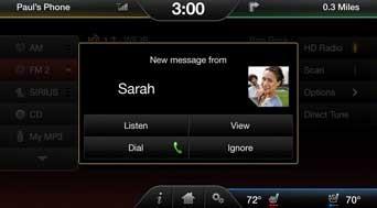 福特同步iPhone  - 使用福特同步接收iPhone短信的第1步