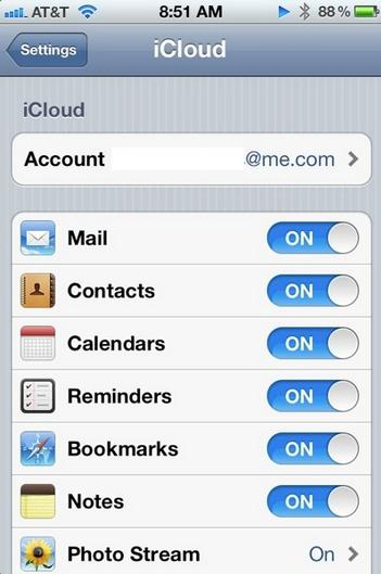 sync iCal with iphone - sync iCal to iPhone using iCloud