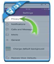how to delete Viber account
