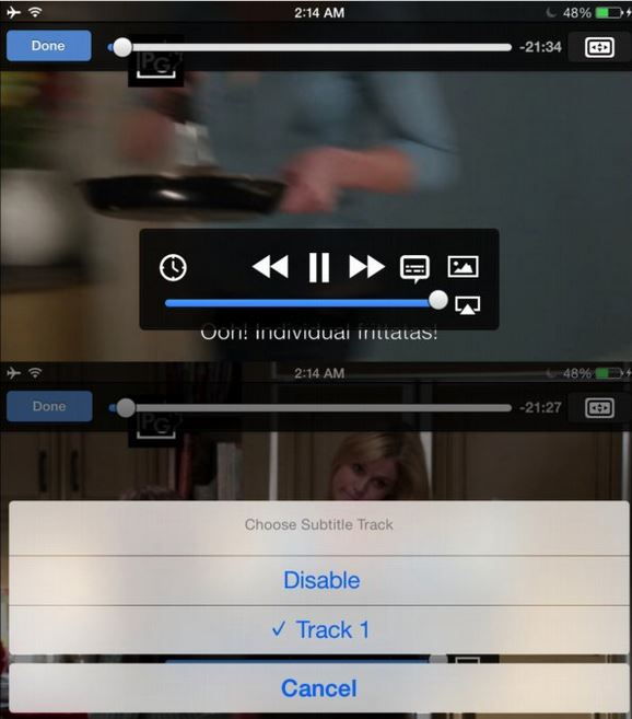 Tips for Using VLC for iPhone - Add Subtitles to Videos