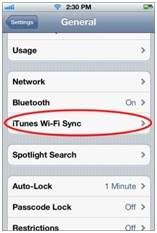 iPhone sync problems
