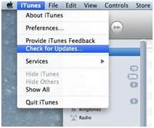 iPhone-Synchronisierungsprobleme