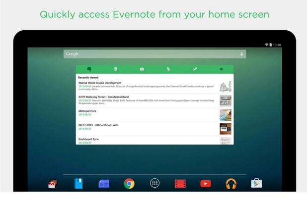 evernote recorder