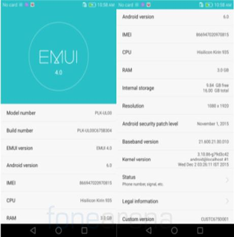 update android 6.0 for huawei