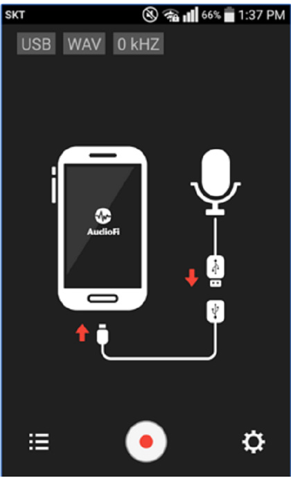 USB audio recorder for phone calls