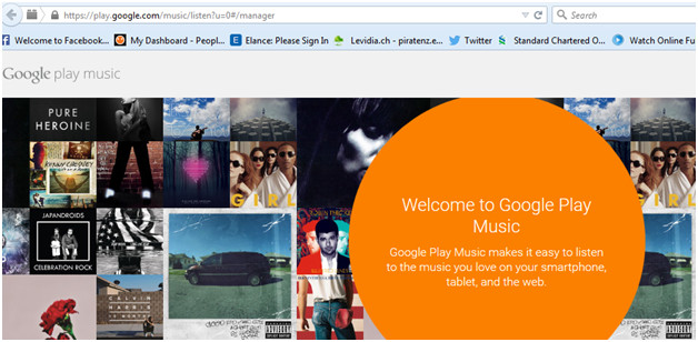 Upload iPhone/iPod/iPad Music to Google Music-Google music
