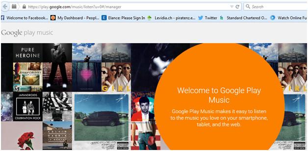 Hochladen von iPhone/iPod/iPad Musik zu Google Music