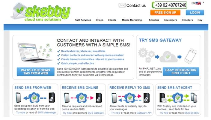 best website to send free sms
