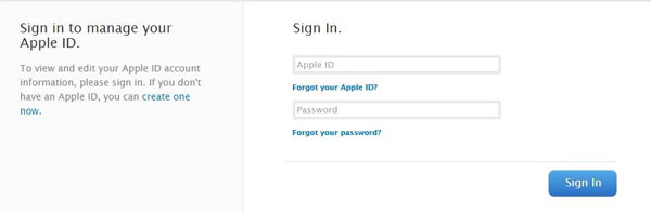 go to Apple to recover the forgotten iCloud password