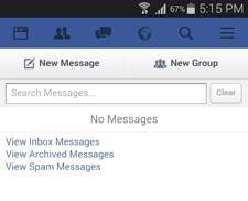 display other facebook messages