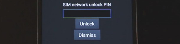 sim network unlock pin