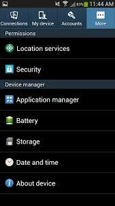 Samsung Auto Backup-go to the settings