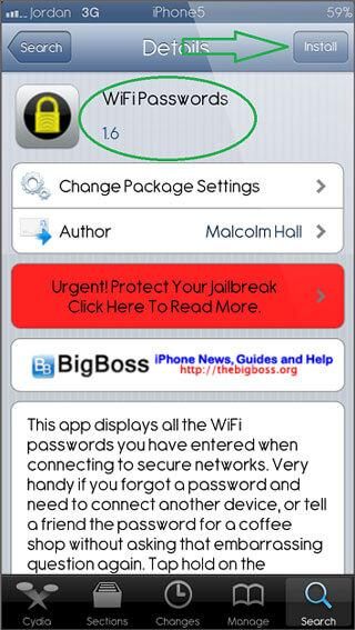find wifi password on iphone ways to find wi fi password on iphone dr fone 6725