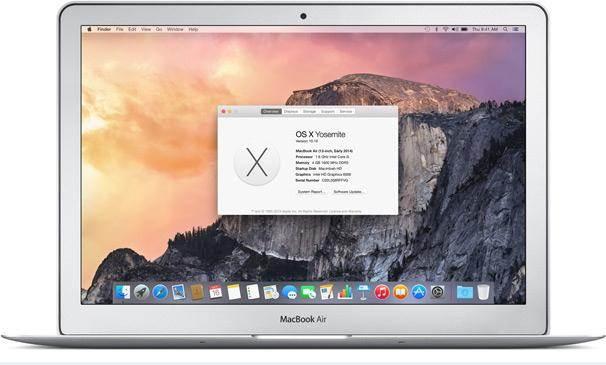 iCloud backup on Mac