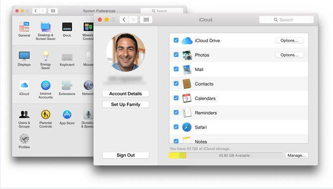 enable iCloud backup on Mac